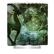 The Enigma Of Capricorn  Shower Curtain