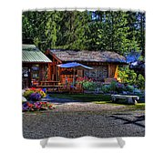 The Entree Gallery II Shower Curtain