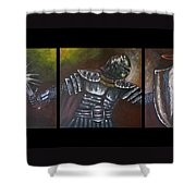The Ephesian, Armor Of God Shower Curtain