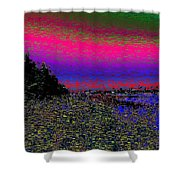 The Estuary Shower Curtain