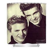 The Everly Brothers Shower Curtain