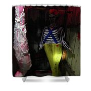 The Evil And The Clown. Shower Curtain