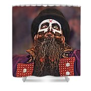 The Evil Wrestling Genius The Cold One Ac  Shower Curtain