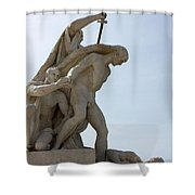 The Execution Shower Curtain