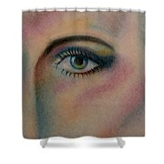 The Eye Shower Curtain