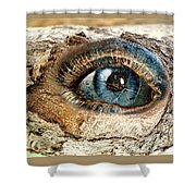 The Eye Of Nature 1 Shower Curtain