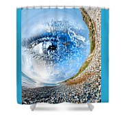 The Eye Of Nature 3 Shower Curtain