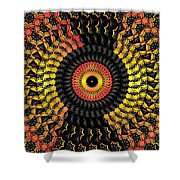 The Eye Of The Storm- Shower Curtain