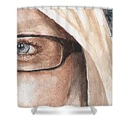 The Eyes Have It - Dustie Shower Curtain
