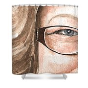 The Eyes Have It - Emma Shower Curtain