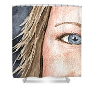 The Eyes Have It - Jill Shower Curtain