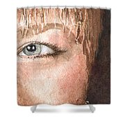 The Eyes Have It - Shelly Shower Curtain