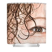 The Eyes Have It - Stacia Shower Curtain