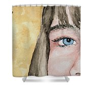 The Eyes Have It - Bryanna Shower Curtain
