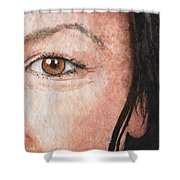 The Eyes Have It- Jessica Shower Curtain
