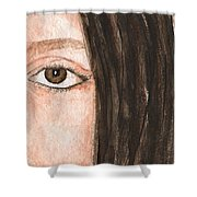 The Eyes Have It- Katelyn Shower Curtain