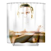 The Eyes Of Light Shower Curtain