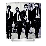 The Fab Four Shower Curtain