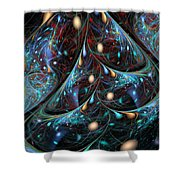 The Fabric Of The Universe Shower Curtain