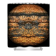 The Face Of Geology Shower Curtain