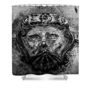 The Face Of War Shower Curtain