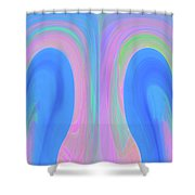 The Fairy Shower Curtain by Mihaela Stancu