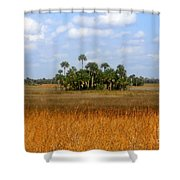 The Fakahatchee Strand Shower Curtain