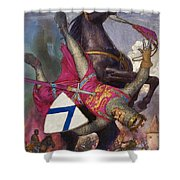 The Fall Of William The Conqueror Shower Curtain