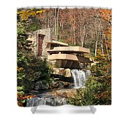 The Fallingwater Shower Curtain