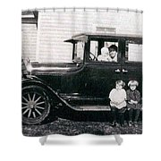The Family Car Shower Curtain