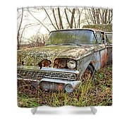 The Family Ford Shower Curtain