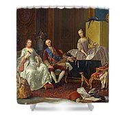 The Family Of Philip Of Parma  Shower Curtain