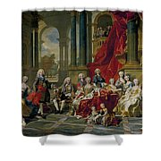 The Family Of Philip V Shower Curtain
