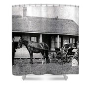 The Family Ride Shower Curtain