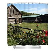 The Farm Shower Curtain