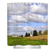 The Farmers Fields Shower Curtain