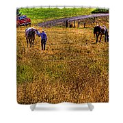 The Farmers Friend Shower Curtain