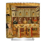 The Feast Of Herod And The Beheading Of The Baptist Shower Curtain