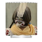 Pow Wow The Feather Shower Curtain