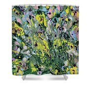 The Feeling Of Spring Shower Curtain