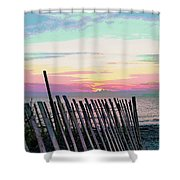 The Fence II  Shower Curtain