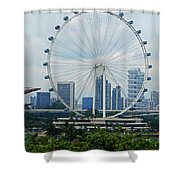 The Ferris Wheel 6 Shower Curtain