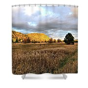 The Field Of Dreams Shower Curtain