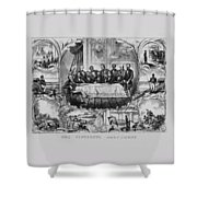 The Fifteenth Amendment  Shower Curtain by War Is Hell Store