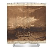 The Fifth Plague Of Egypt Shower Curtain