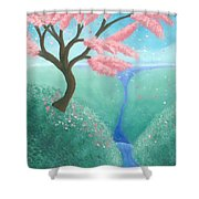 The Finer Things In Life Shower Curtain