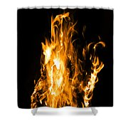 The Fire Within Shower Curtain