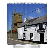 The First And Last Inn In England Shower Curtain