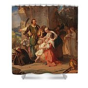 The First Harvest After The Thirty Years' War Shower Curtain