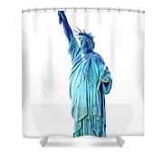 The First Lady Of Freedom Shower Curtain